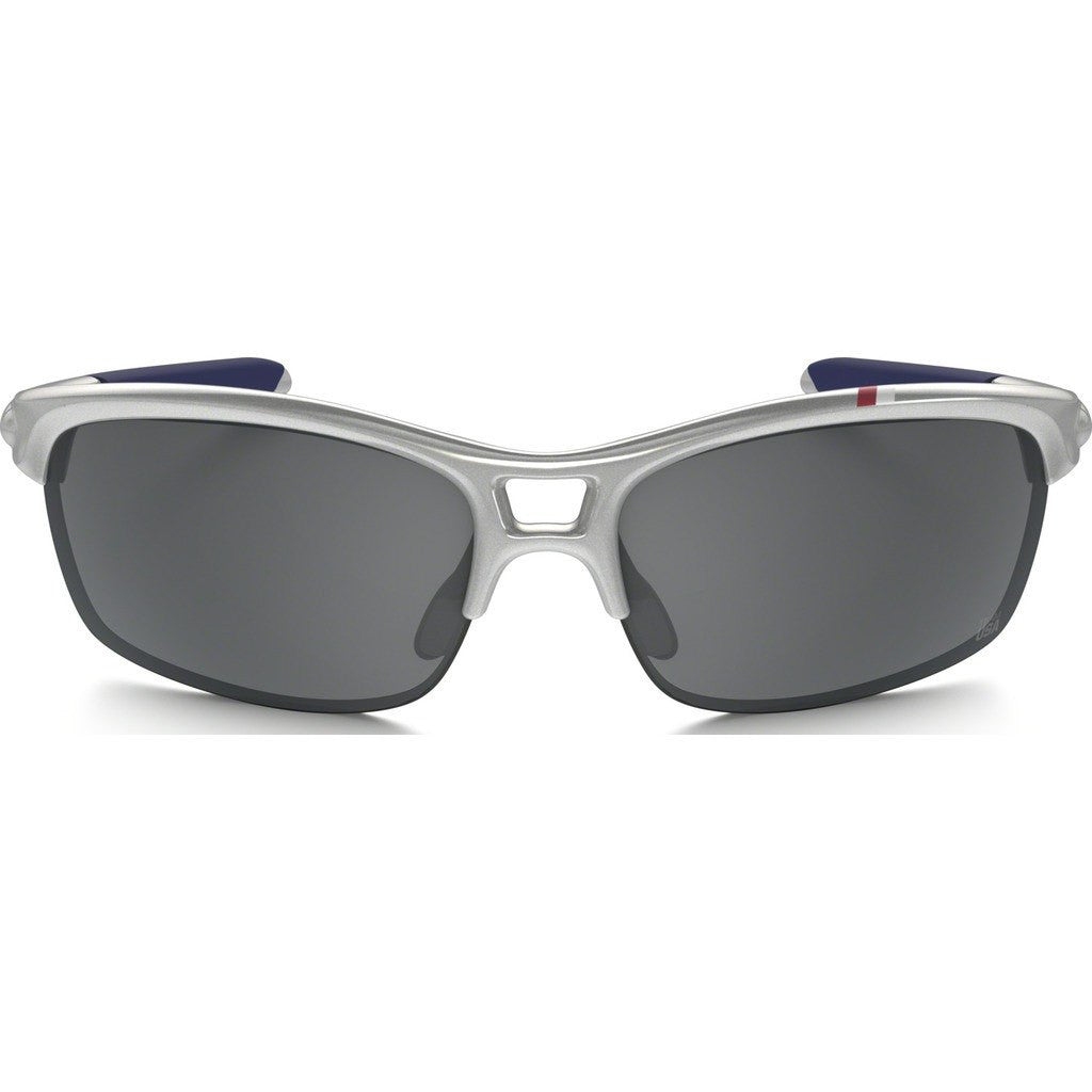 Oakley Lifestyle Team USA RPM Squared Silver Sunglasses | Black Iridium OO9205-17