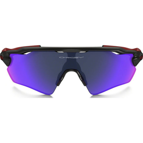 Oakley Sport Radar EV Path Polished Black Sunglasses | Red Iridium OO9208-21