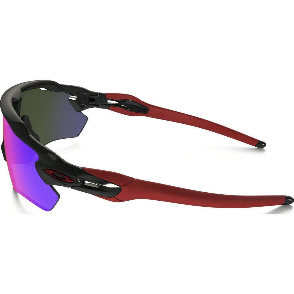 ... where to buy oakley sport radar ev path polished black sunglasses red  iridium oo9208 21 65ef8 ... 2fcf533c8744