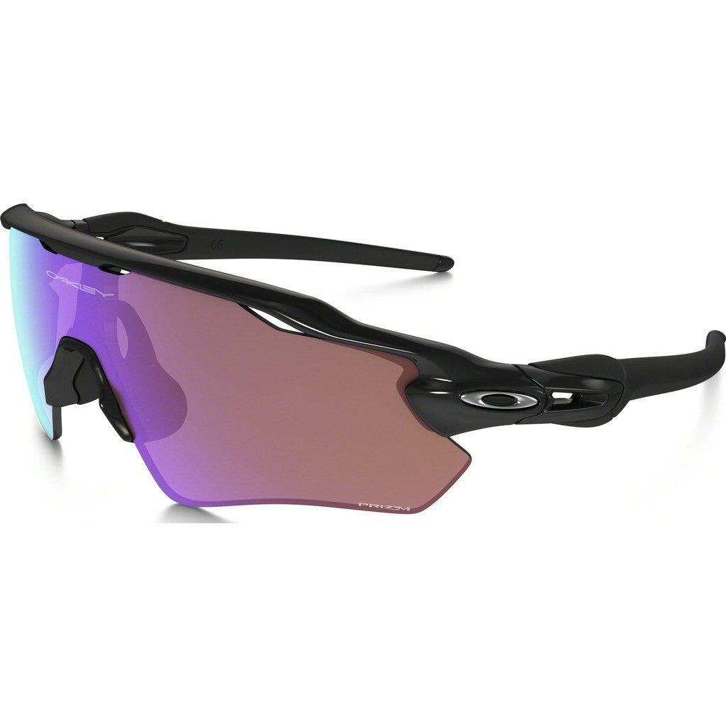 Oakley Sport Radar EV Path Polished Black Sunglasses | Prizm Golf OO9208-44