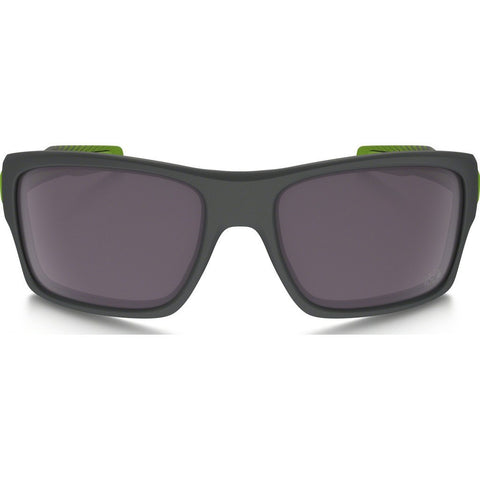 Oakley Active Turbine Matte Dark Grey Sunglasses | Prizm Daily Polarized TdeF OO9263-27
