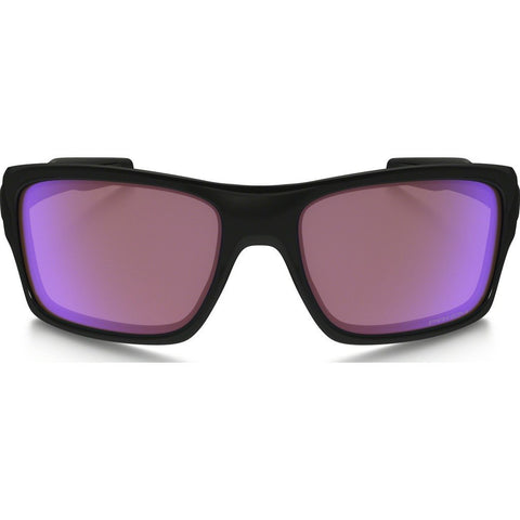 Oakley Active Turbine Polished Black Sunglasses | Prizm Golf OO9263-30