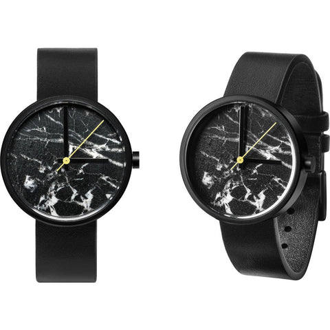 AÃRK Collective Daniel Emma Watch | Marble Nero