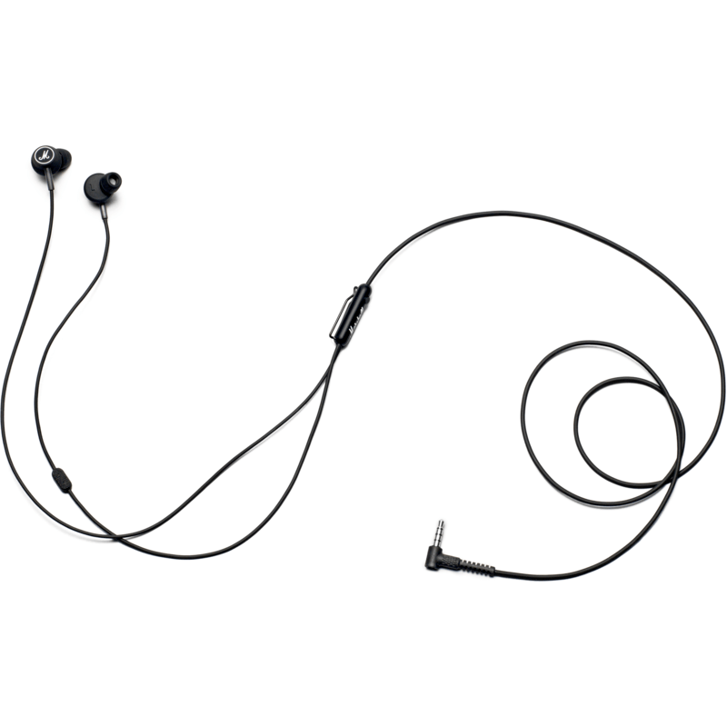 Marshall Mode In-Ear Headphones | Black/White