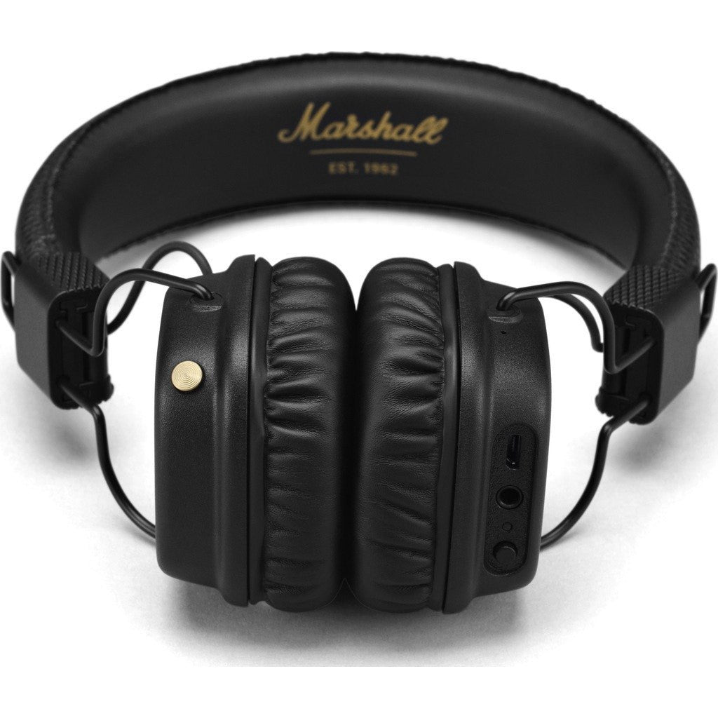 Marshall Major II Bluetooth Headphones | Black