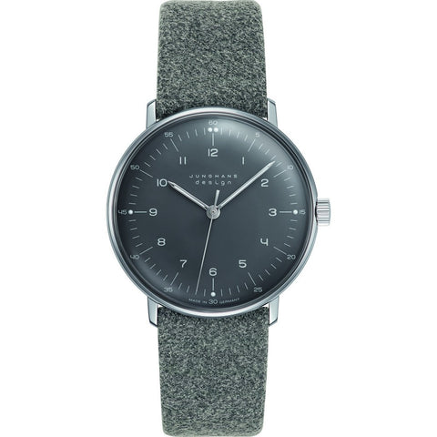 Junghans Max Bill Hand-Winding Watch | Felt & Leather 027/3602.00