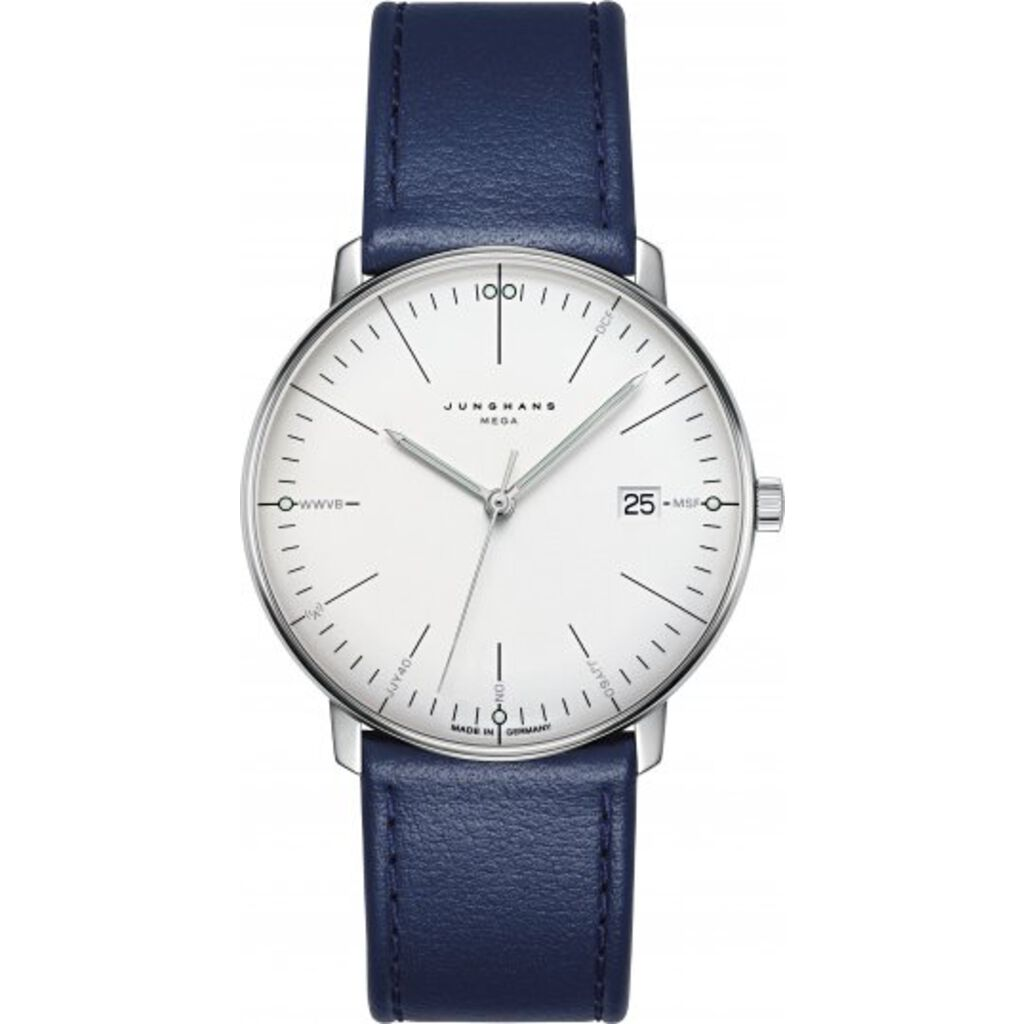 Junghans Max Bill Mega Radio Controlled Analog Watch | Quartz