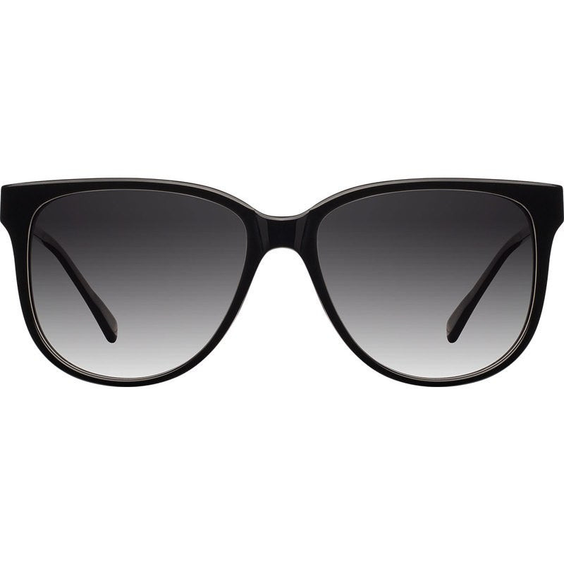 Shwood Mckenzie Acetate Sunglasses | Black & Ebony / Grey Fade