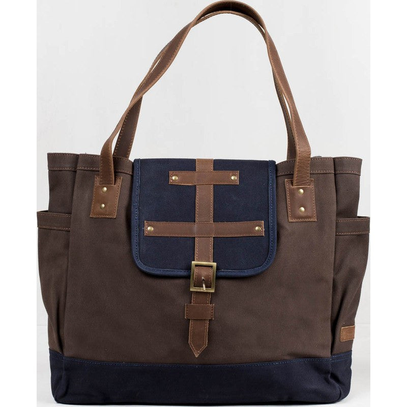 United By Blue McKenzie Tote Bag | Chocolate