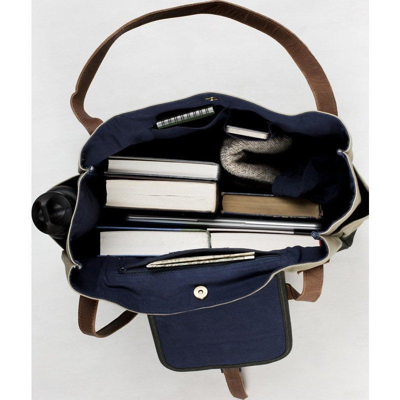 United By Blue McKenzie Tote Bag | Navy