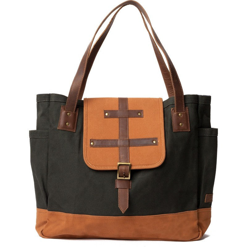 United By Blue McKenzie Tote Bag | Moss