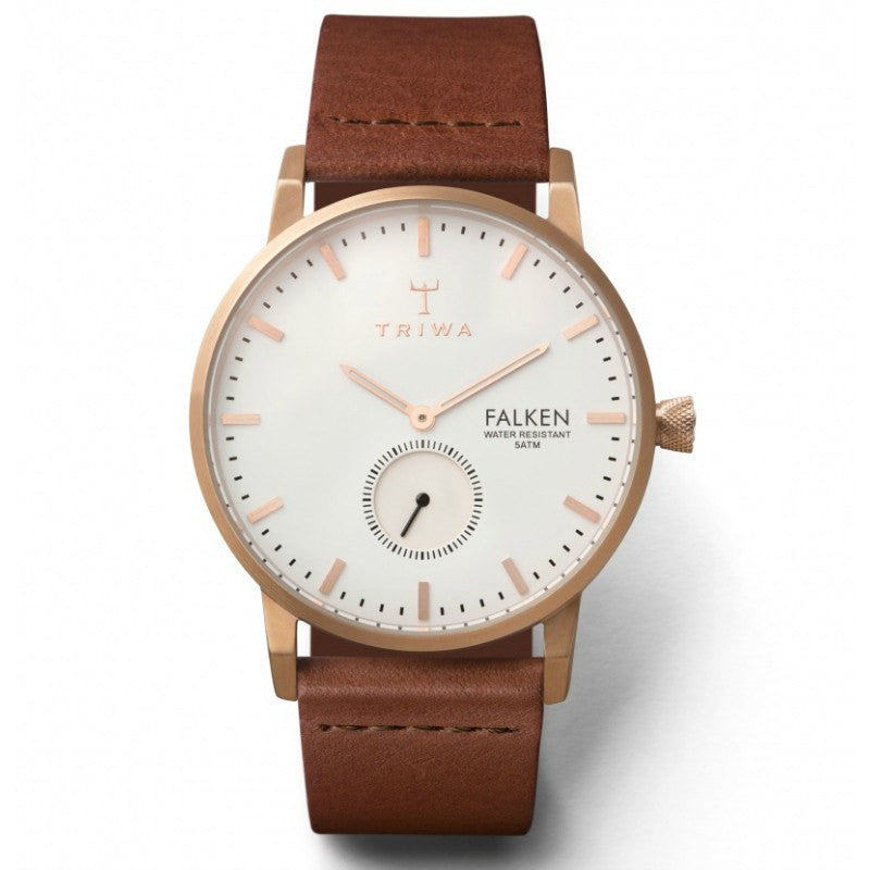 Triwa Rose Falken Watch | Brown Classic