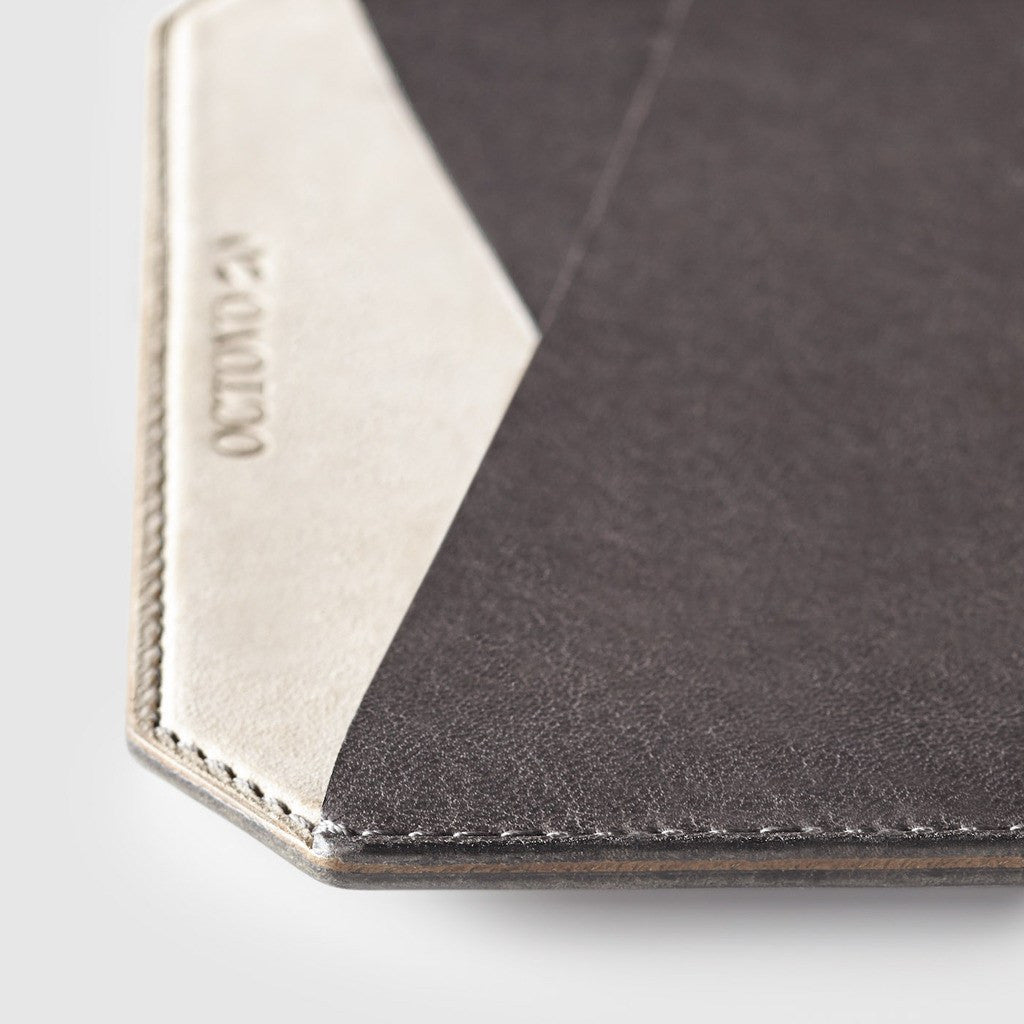 Octovo Leather iPad Mini Sleeve | Gray