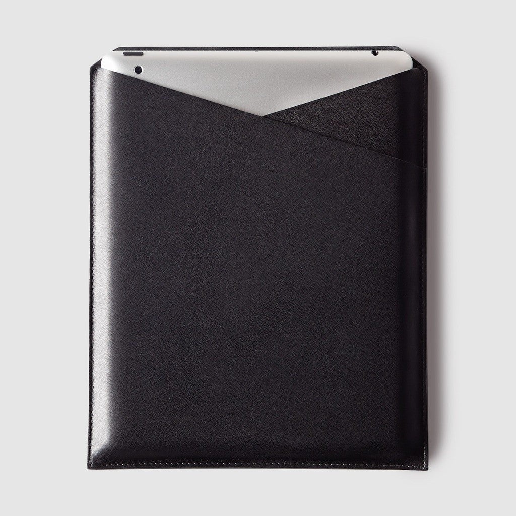 Octovo Leather iPad 2 Sleeve | Black