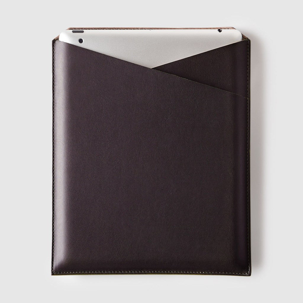 Octovo Leather iPad 2 Sleeve | Brown