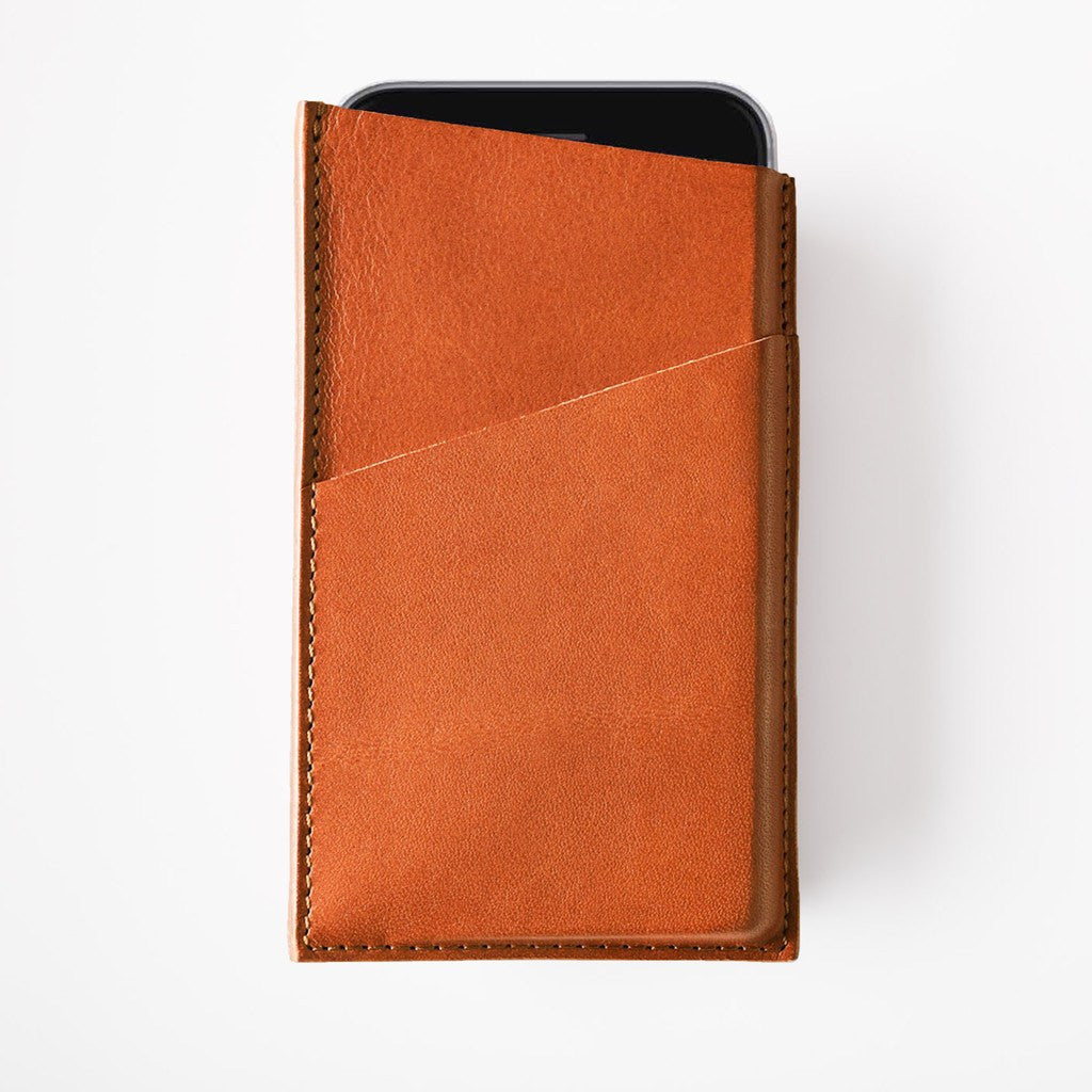 Octovo Leather iPhone 6/6s Plus Case | Chestnut