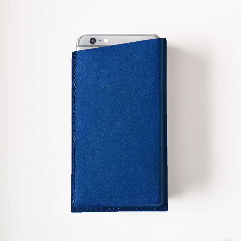 Octovo Leather iPhone 6/6s Case | Blue