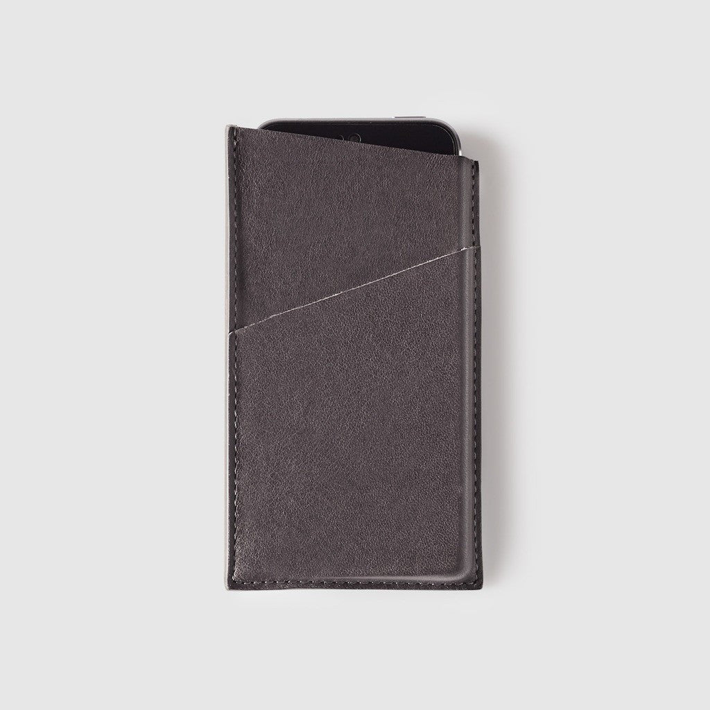 Octovo Leather iPhone 5/5s Case | Gray