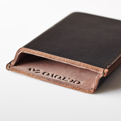 Octovo Card Case | Brown LCC101A