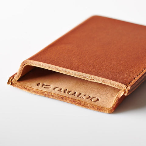 Octovo Card Case | Amber LCC102A