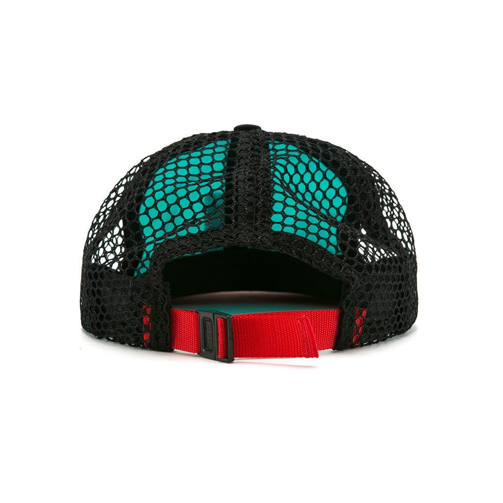Topo Designs Nylon Mesh Back Hat | Turquoise/Black
