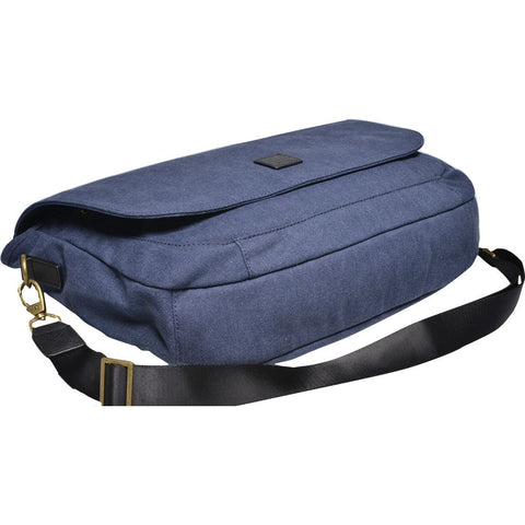Souve Bag Co Canvas Messenger Bag | Blue [AR00056]