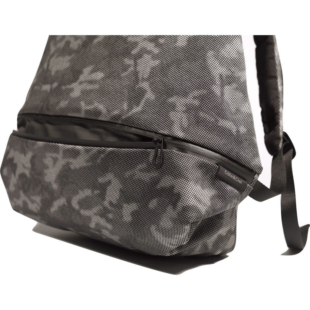 Cote et Ciel Meuse Eco Yarn Backpack | Stone Grey Crypsis
