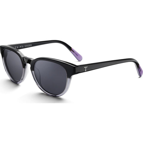 Triwa Ernest Sunglasses | Midnight SHAC209