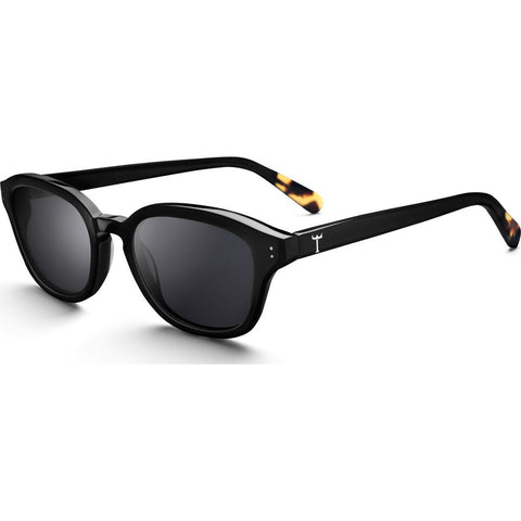 Triwa Frank Sunglasses | Midnight SHAC200