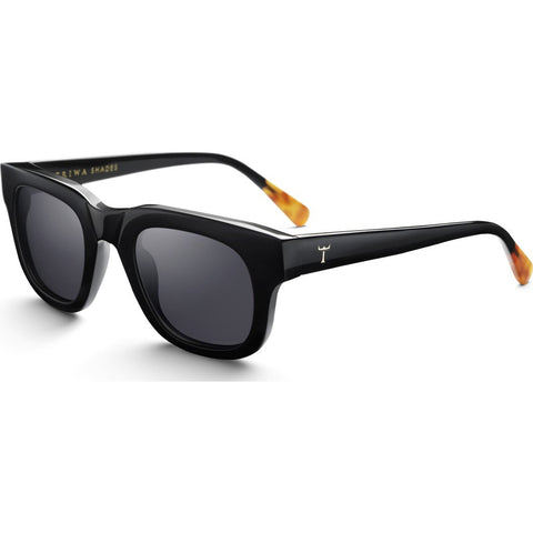 Triwa Henry Sunglasses | Midnight SHAC131