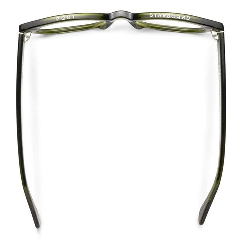 Caddis Miklos Blue Light Rx Reading Glasses | Heritage Green