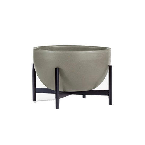 Modernica Ceramic Small Bowl Planter | Pebble