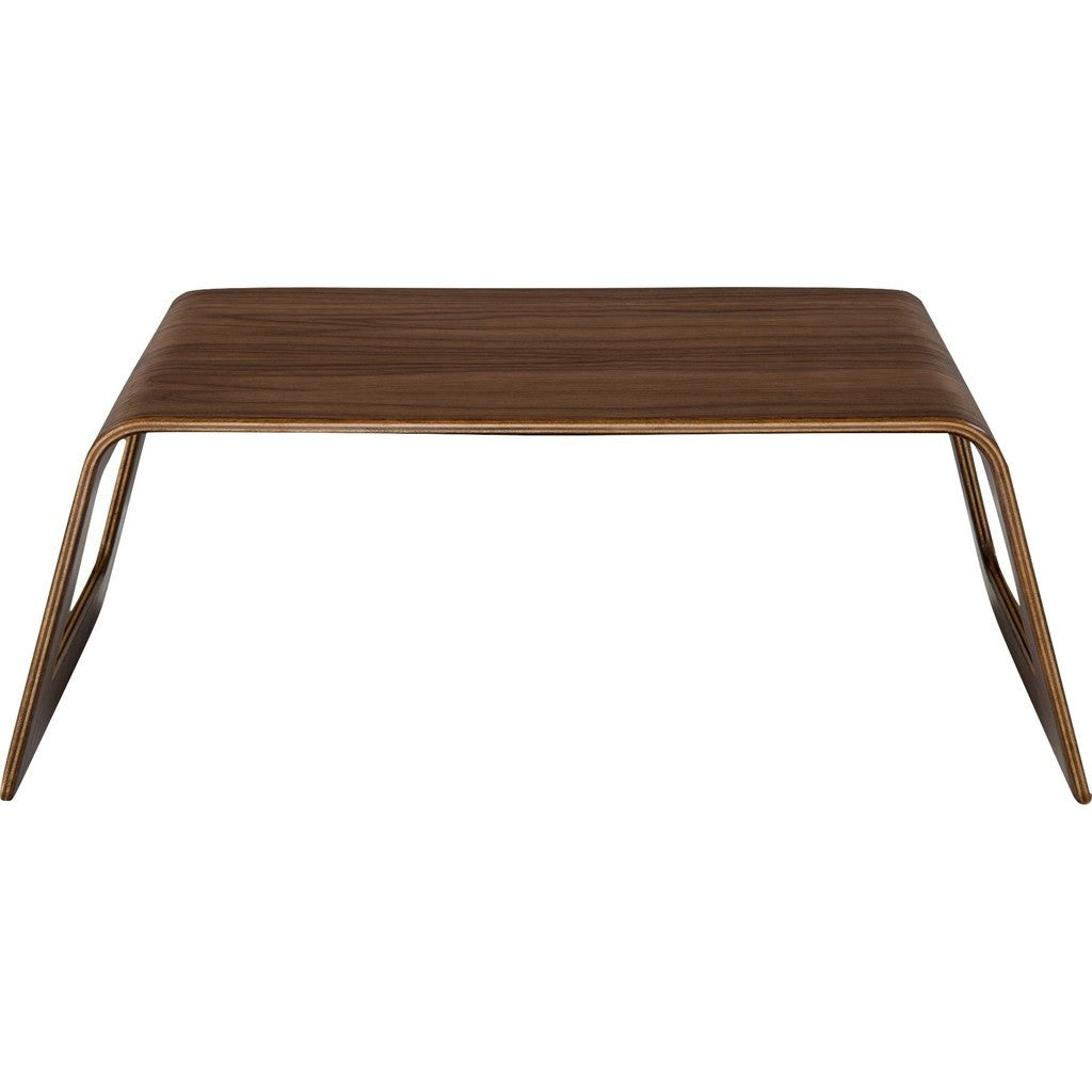 ... Modernica Case Study Bentwood Tray Table Chair | Walnut ...