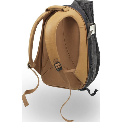 Cote et Ciel Isar Twin Touch Grid Backpack | Juniper Green/Caramel