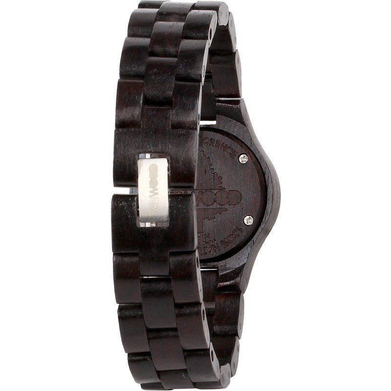 WeWood Moon Blackwood Wood Watch | Black