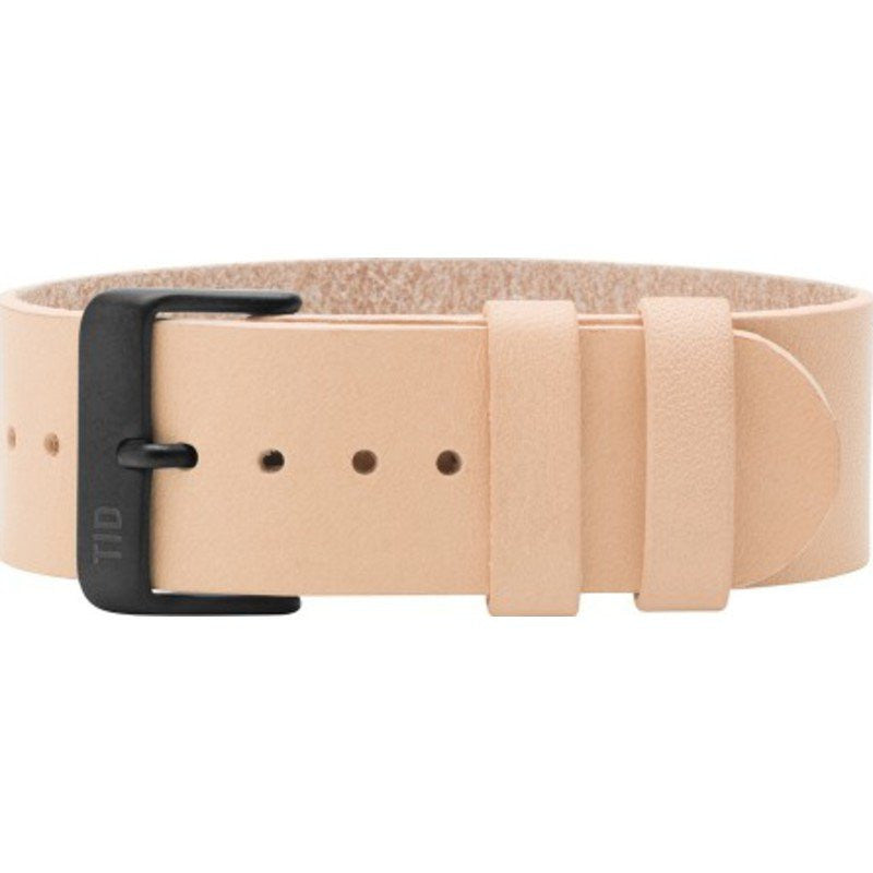 TID Natural Leather Watch Strap | Natural