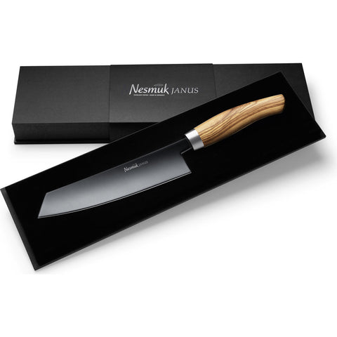 Nesmuk Janus Chef Knife | Olive Wood J5O1802013