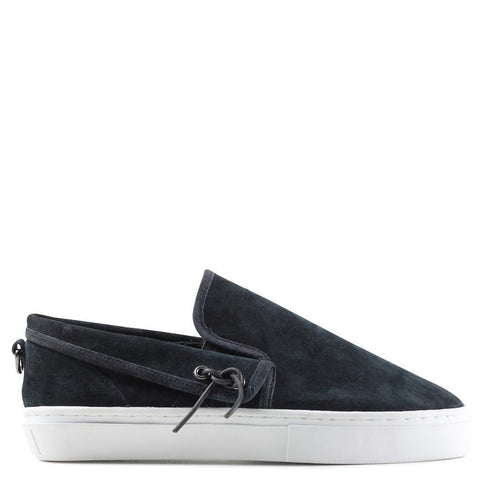 Clear Weather Lakota Slip On Shoes | Black Suede CRW001-BLS