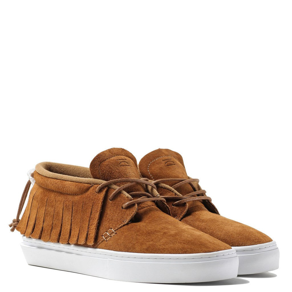 Clear Weather One-O-One Chukka Moccasins | Comanche Honey Suede CRW-101-CO