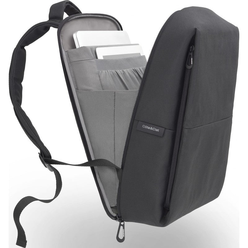 Cote et Ciel Rhine Eco Yarn Laptop Backpack | Black 28038