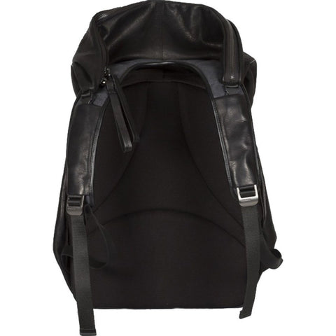 Cote et Ciel Nile Alias Cowhide Leather Backpack | Agate Black 28371