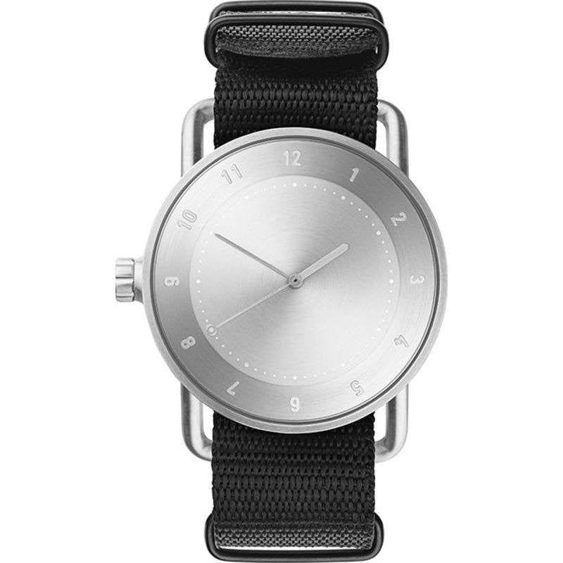 TID No. 2 Brushed Steel Watch | Nato Band
