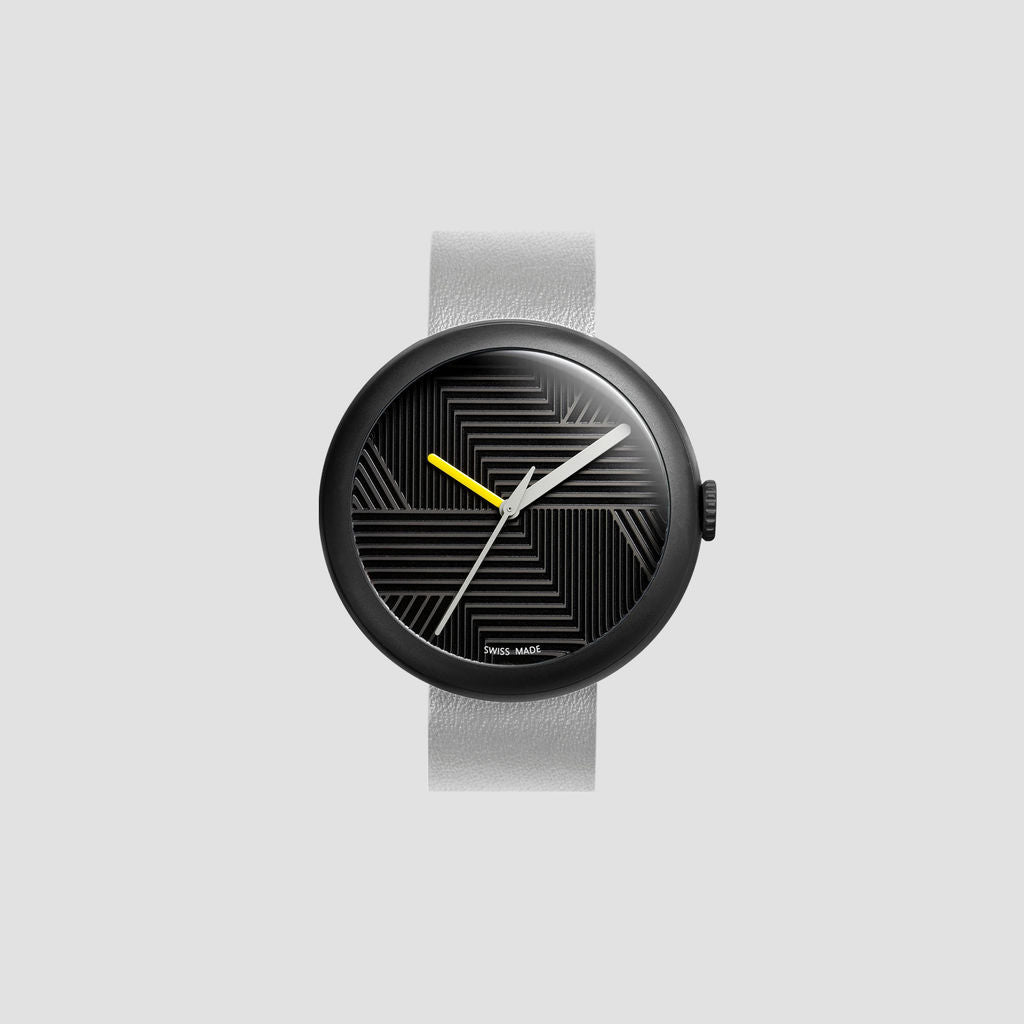 Objest Hach Charcoal Watch | Grey CHAGRE102