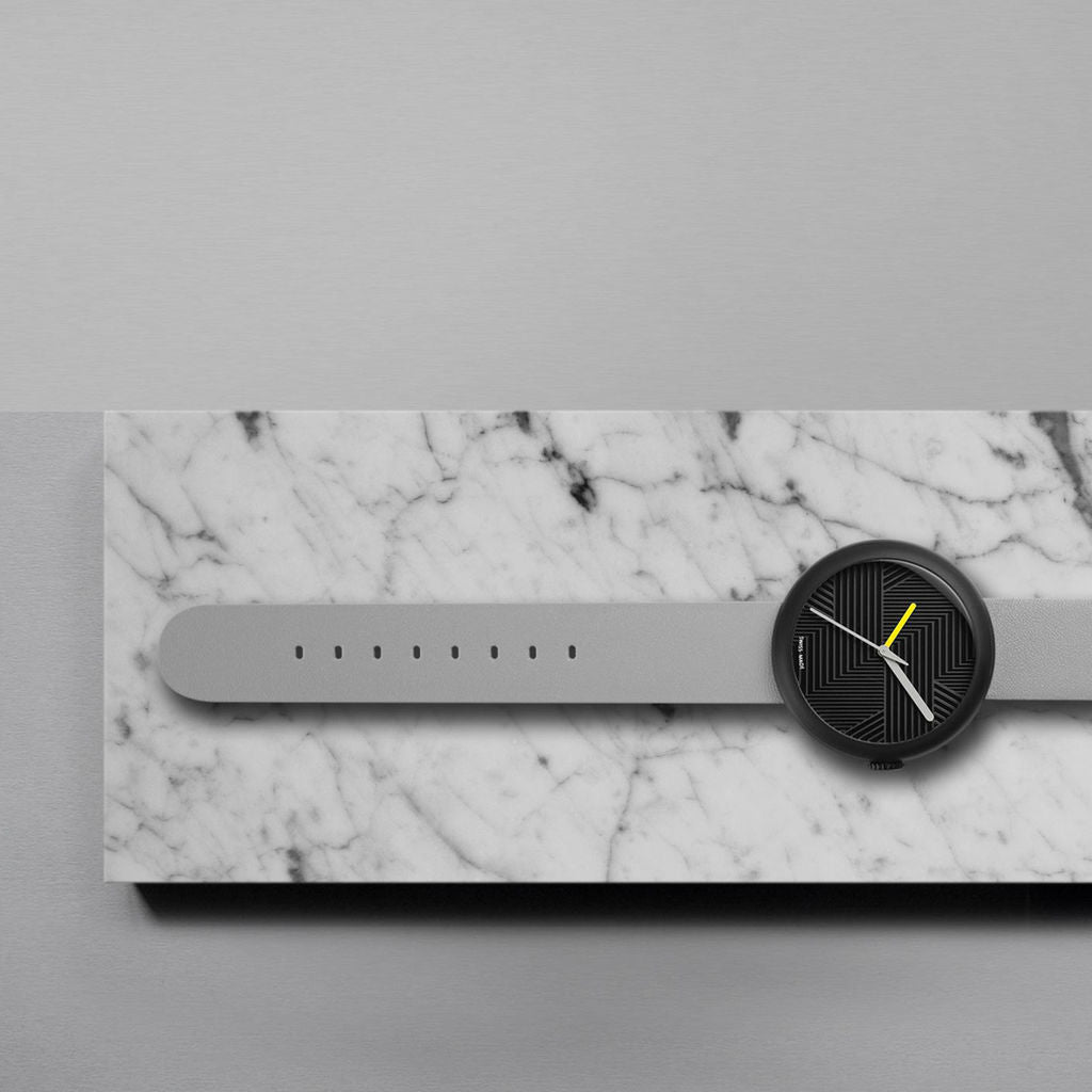 Objest Hach Charcoal Watch | Grey CHAGRE104