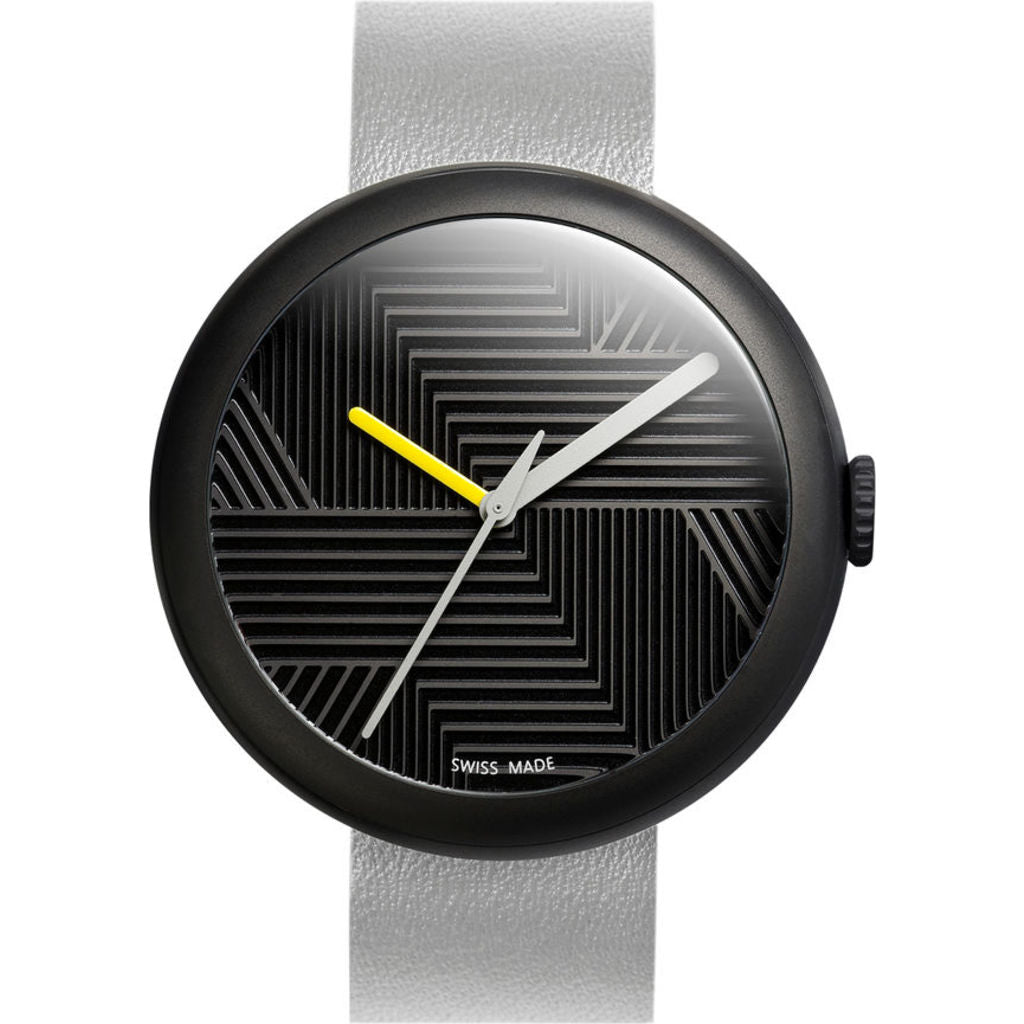 Objest Hach Charcoal Watch | Grey CHAGRE106