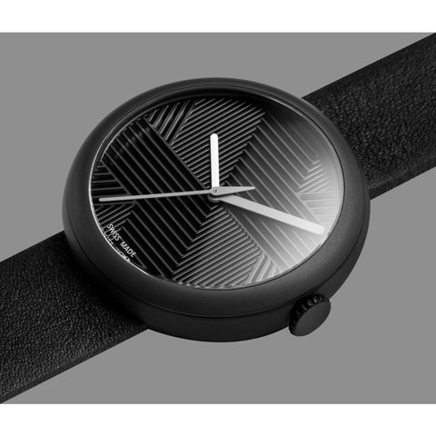Objest Hach Charcoal Watch | Black CHABLA106