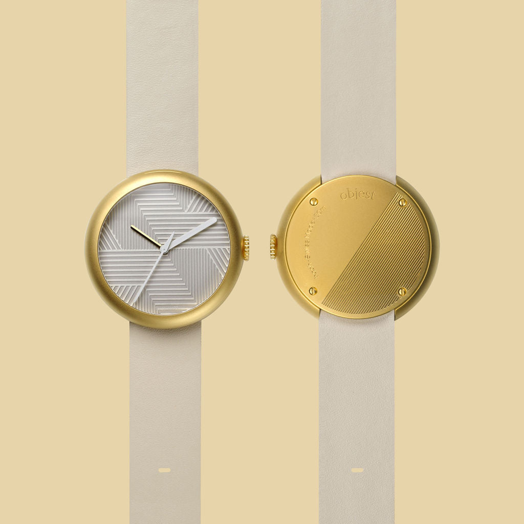 Objest Hach Copper Watch | Nude GOLNUD107
