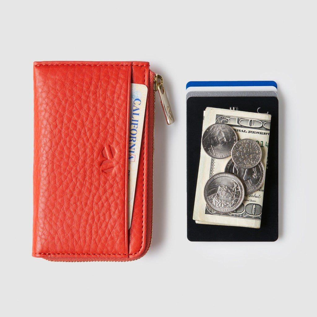 Octovo NYC Wallet | Orange