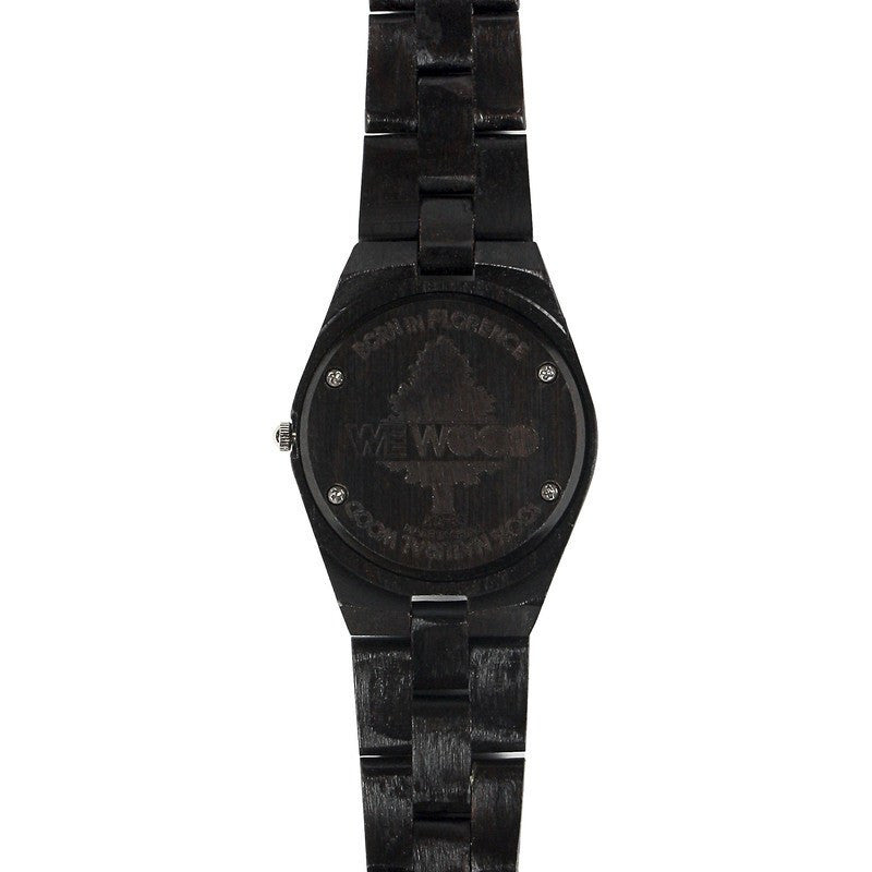 WeWood Odyssey Blackwood Wood Watch | Crystal Black