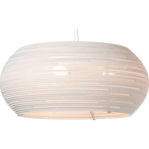 "Graypants Scraplight Ohio 24 Pendant Light | White 24.0"" Diameter GP-1231-UL"